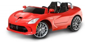 electric cars for kids dodge viper