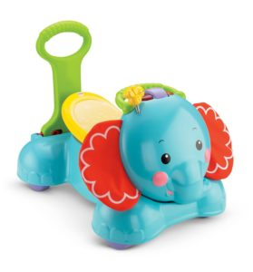 Baby Scooters - Fisher Price 3-in-1 Bounce Stride & Ride Elephant