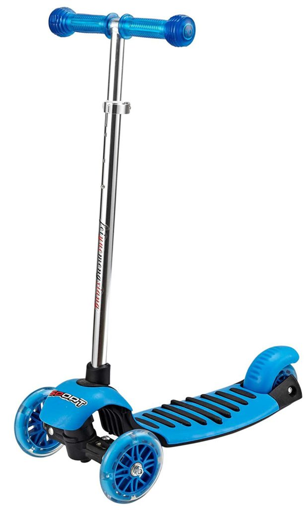 Voyage Kids Kick Scooter With Light Up Wheels