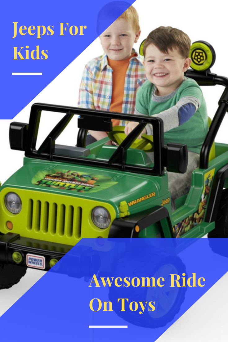 Jeeps for kids make awesome ride-on toys, but there are many to choose from. Check out some of the best ones available at Kids' Ridez.